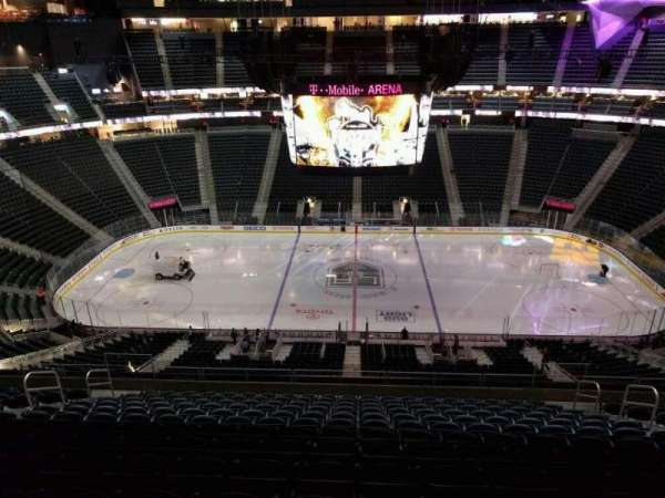 T-Mobile Arena, section: 205, row: n, seat: 12