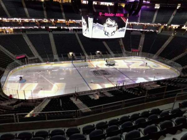 T-Mobile Arena, section: 203, row: f, seat: 7