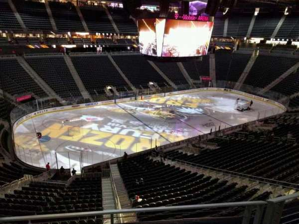 T-Mobile Arena, section: 202, row: b, seat: 5