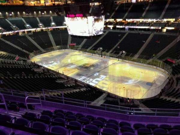 T-Mobile Arena, section: 209, row: g, seat: 8