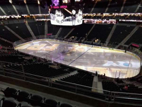 T-Mobile Arena, section: 226, row: d, seat: 7