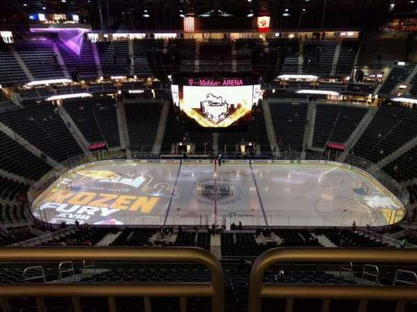 T-Mobile Arena, section: 226, row: wc