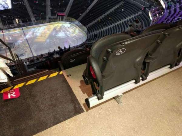 T-Mobile Arena, section: 206