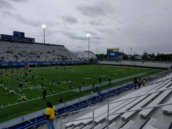 Delaware Stadium, section: n, row: j, seat: 8