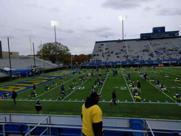 Delaware Stadium, section: m, row: d, seat: 16