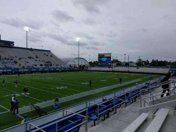Delaware Stadium, section: m, row: d, seat: 16