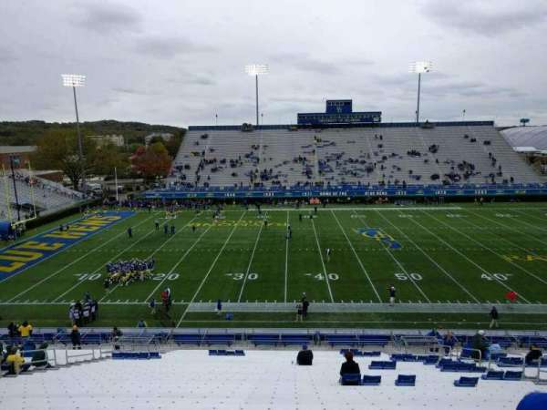 Delaware Stadium, section: l, row: ii, seat: 14