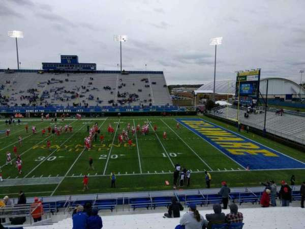 Delaware Stadium, section: i, row: t, seat: 20