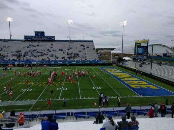 Delaware Stadium, section: i, row: t, seat: 20