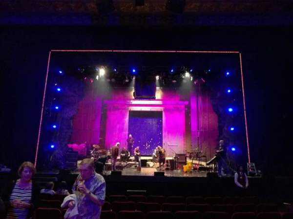 Hollywood Pantages Theatre, section: orchestra c, row: j, seat: 106