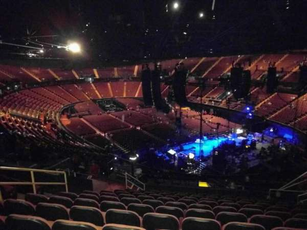 The Forum, section: 215, row: 12, seat: 8