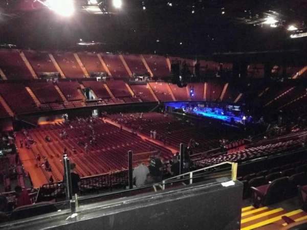 The Forum, section: 206, row: 7, seat: 10