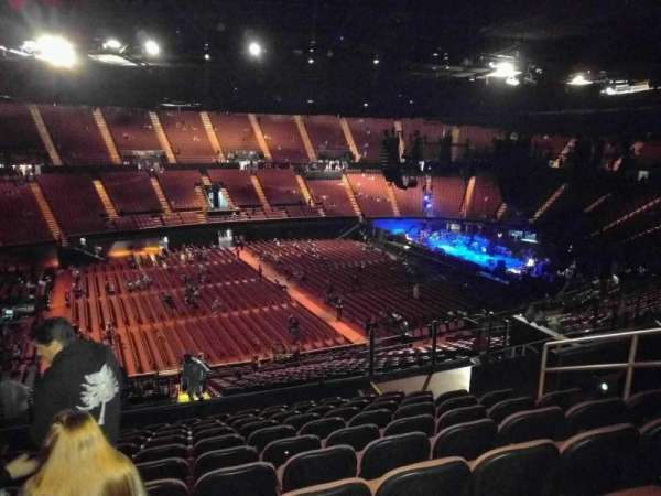The Forum, section: 207, row: 11, seat: 7