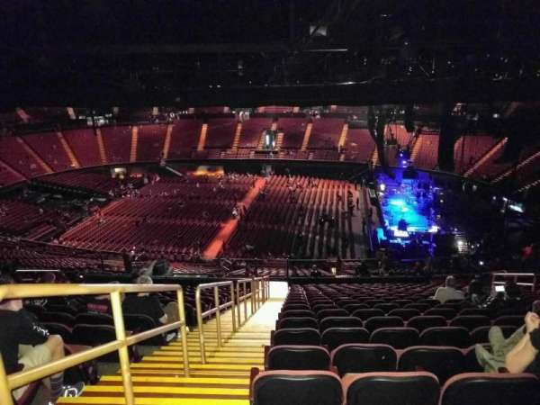 The Forum, section: 211, row: 21, seat: 1