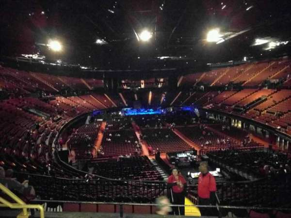 The Forum, section: 235, row: 8, seat: 7