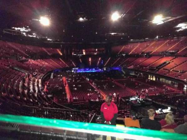 The Forum, section: 234, row: 3, seat: 9