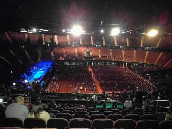 The Forum, section: 226, row: 17, seat: 9