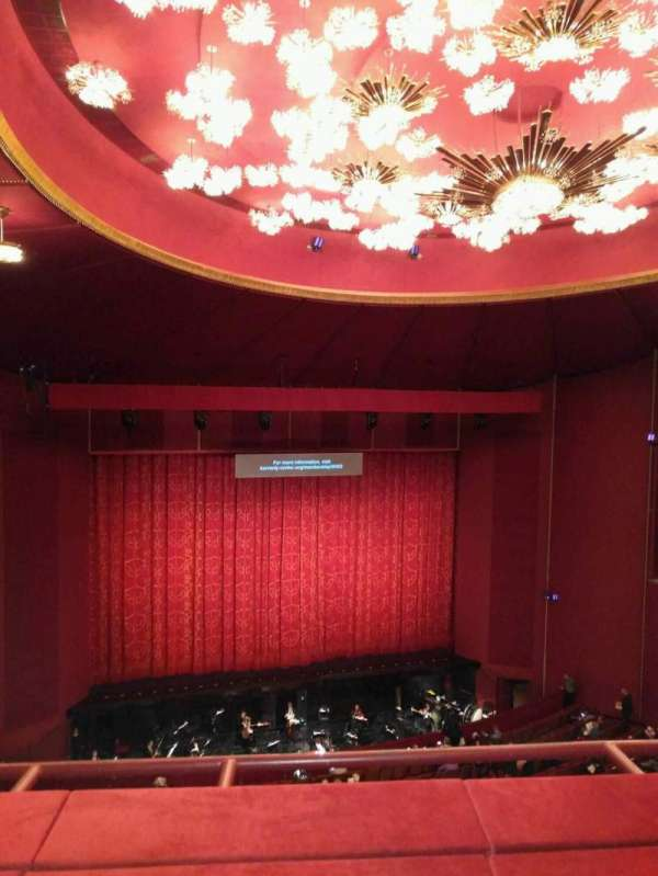 The Kennedy Center Opera House, section: 2nd teir, row: b, seat: 105