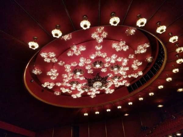 The Kennedy Center Opera House, section: 1st tier, row: a, seat: 9