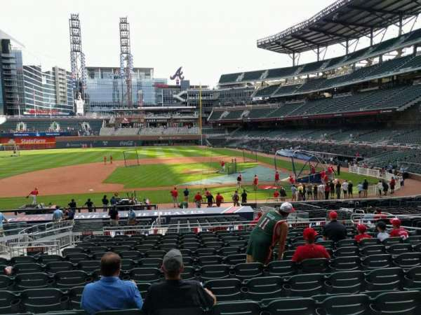 Truist Park, section: 131, row: 13, seat: 11