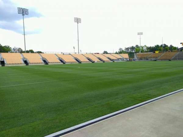 Fifth Third Bank Stadium, section: 102, row: a, seat: 10