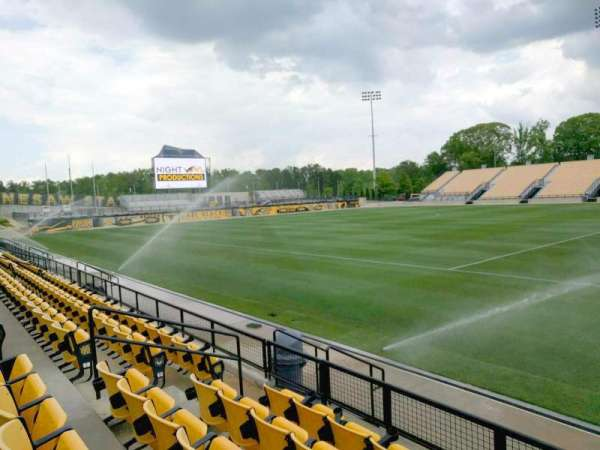 Fifth Third Bank Stadium, section: 107, row: e, seat: 9