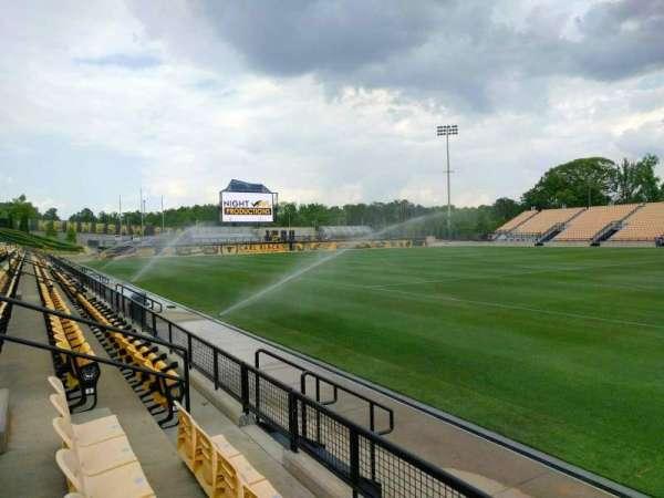 Fifth Third Bank Stadium, section: 108, row: c, seat: 10