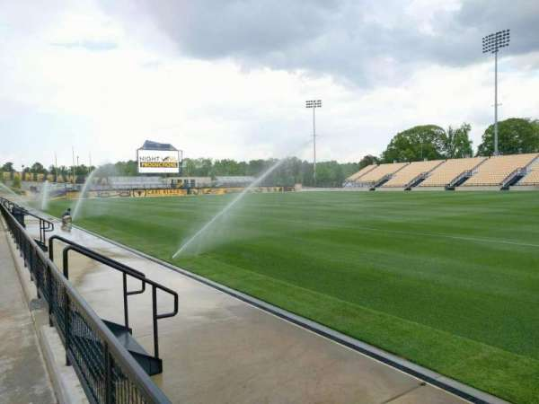 Fifth Third Bank Stadium, section: 109, row: a, seat: 10