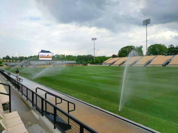 Fifth Third Bank Stadium, section: 110, row: b, seat: 10