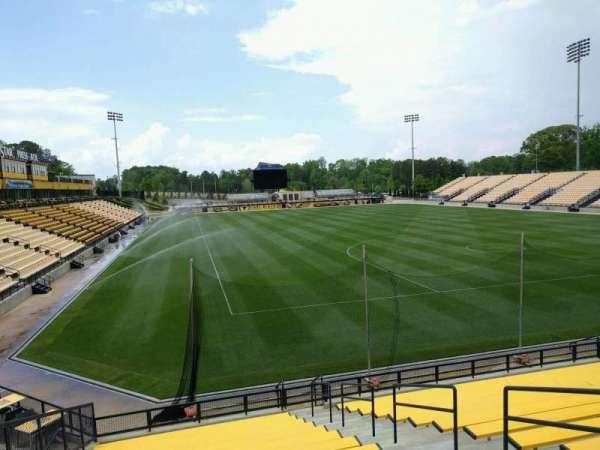 Fifth Third Bank Stadium, section: 113, row: ga