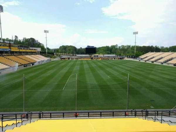 Fifth Third Bank Stadium, section: 115, row: ga
