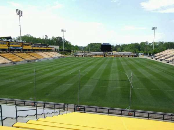 Fifth Third Bank Stadium, section: 117