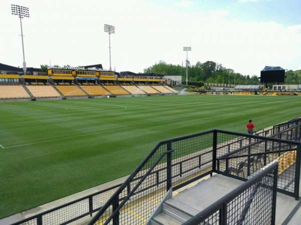 Fifth Third Bank Stadium, section: 121, row: g, seat: 7