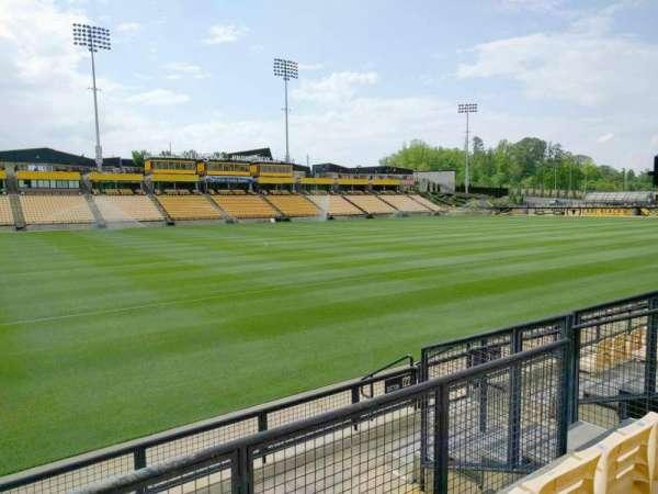 Fifth Third Bank Stadium, section: 122, row: f, seat: 8