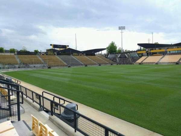 Fifth Third Bank Stadium, section: 126, row: c, seat: 8