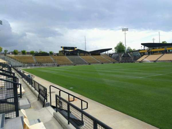 Fifth Third Bank Stadium, section: 127, row: b, seat: 7