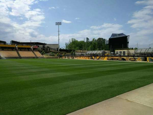 Fifth Third Bank Stadium, section: 128, row: a, seat: 7
