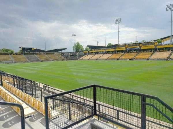 Fifth Third Bank Stadium, section: 131, row: g, seat: 4