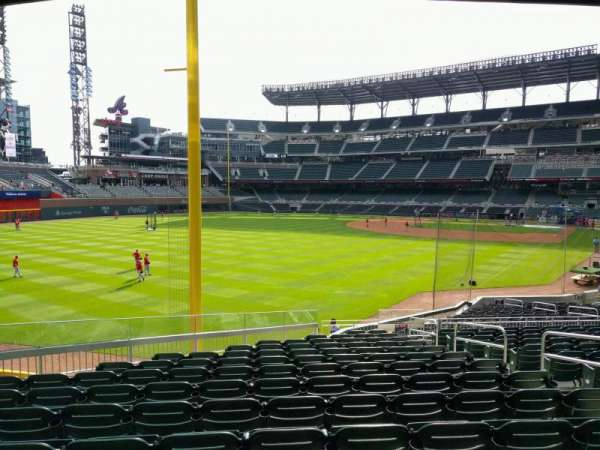Truist Park, section: 143, row: 14, seat: 7