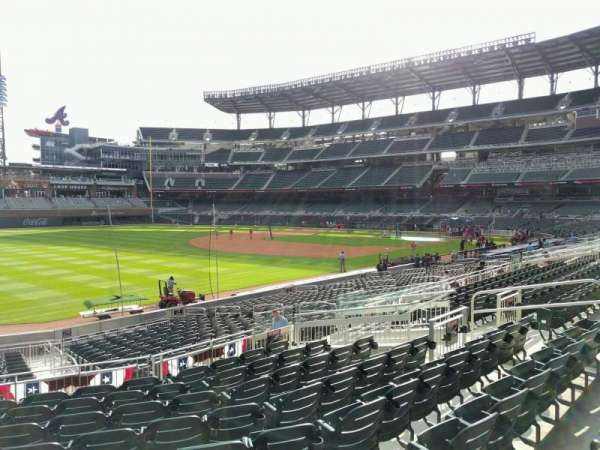Truist Park, section: 140, row: 9, seat: 14