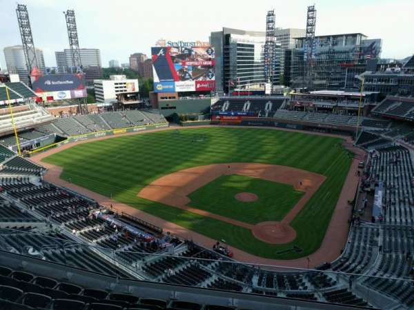 SunTrust Park, section: 428, row: 6, seat: 6