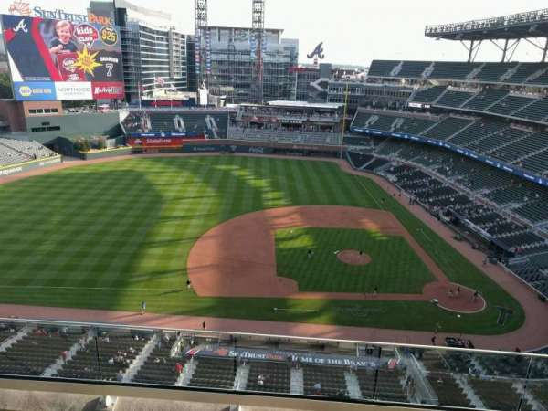 Truist Park, section: 433, row: 4, seat: 7