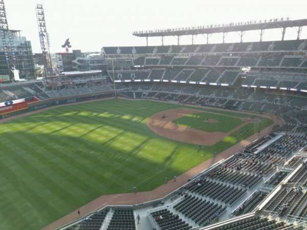 SunTrust Park, section: 442, row: 1, seat: 9