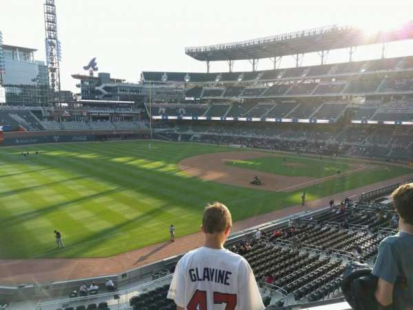 SunTrust Park, section: 240, row: 3, seat: 9