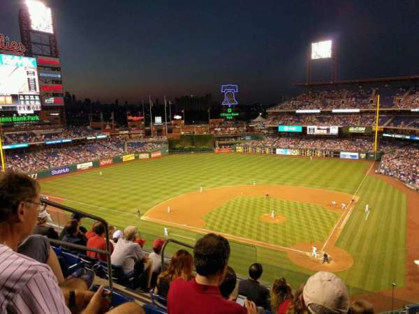 Citizens Bank Park, section: 323, row: 6, seat: 8
