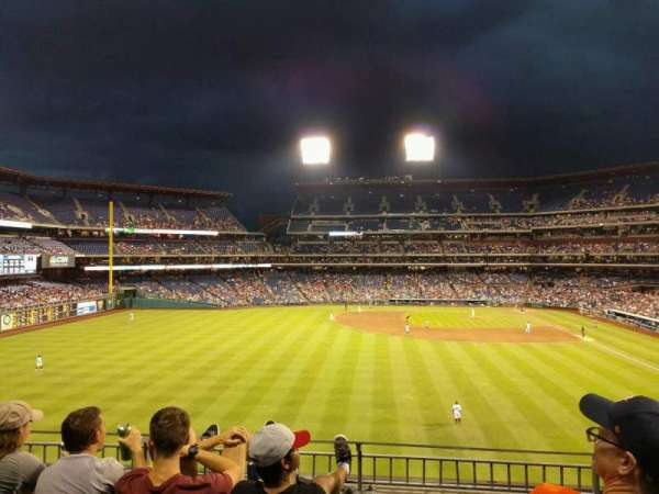 Citizens Bank Park, section: 243, row: 4, seat: 12