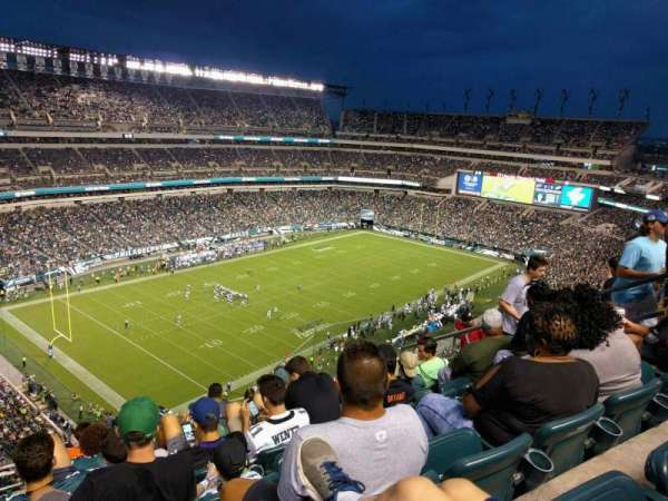 Lincoln Financial Field, section: 239, row: 13, seat: 9