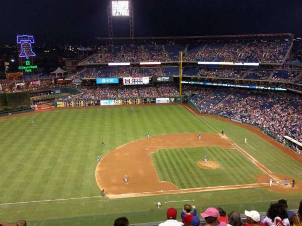 Citizens Bank Park, section: 427, row: 8, seat: 12
