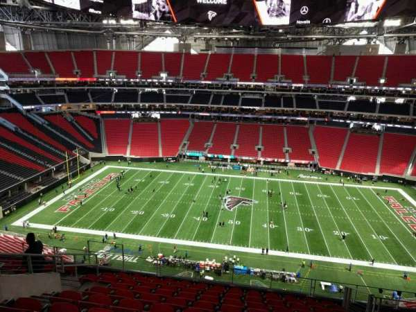 Mercedes-Benz Stadium, section: 339, row: 11, seat: 16