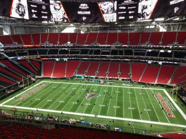 Mercedes-Benz Stadium, section: 338, row: 16, seat: 12